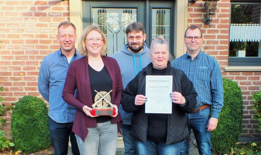 Sieg beim Niederrheinvergleichsschießen 2019
